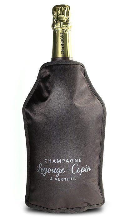rafraichisseur champagne marron
